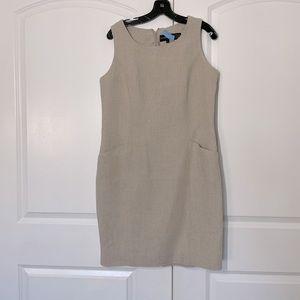 Classique Entier 100% Linen Shift Dress size 12